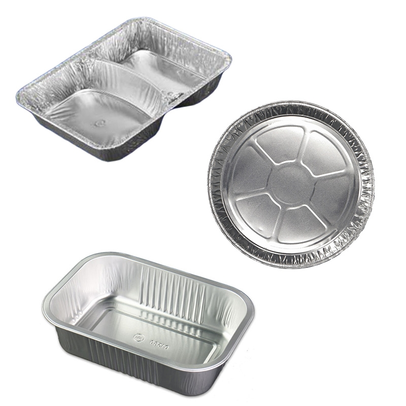 Tray aus Aluminium