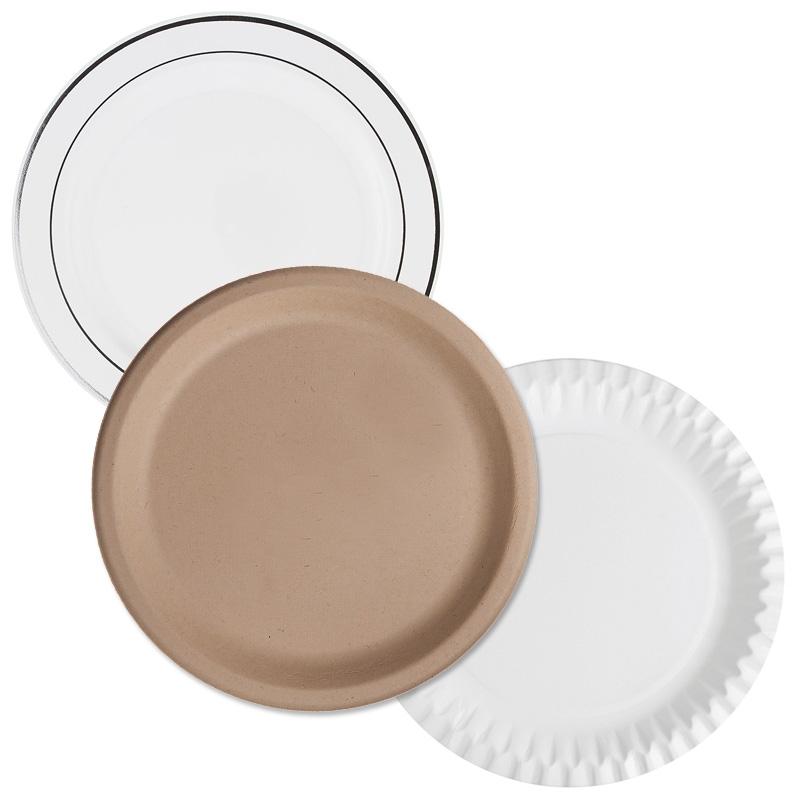 Teller in unterschiedlichen Größen