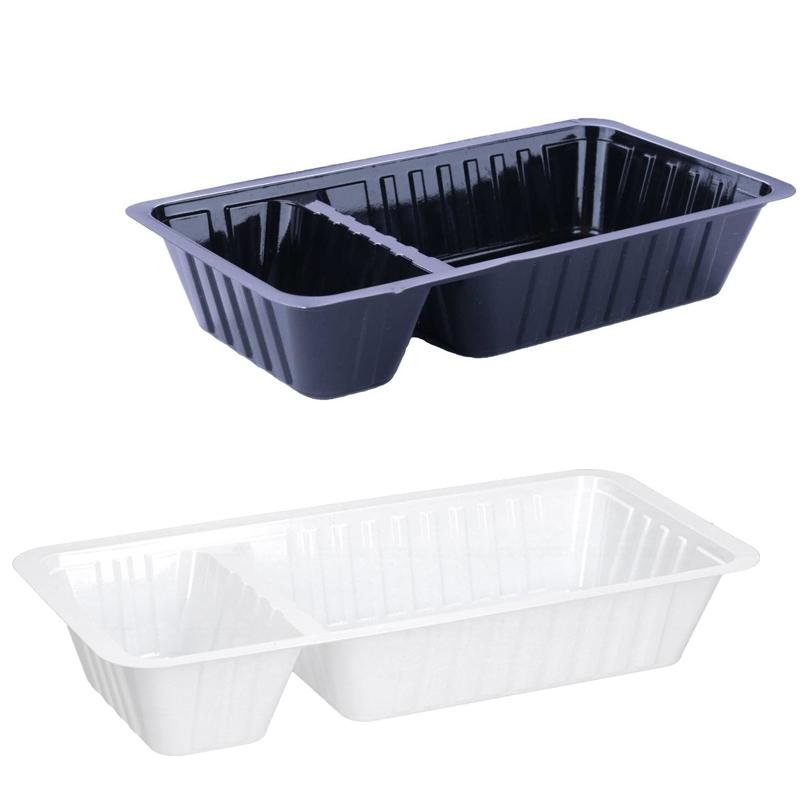 Pommesschütten aus Plastik