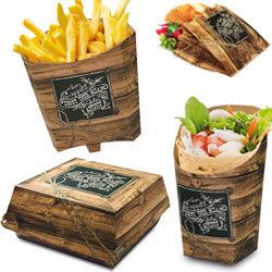 Snack-Linie Wood Kraft