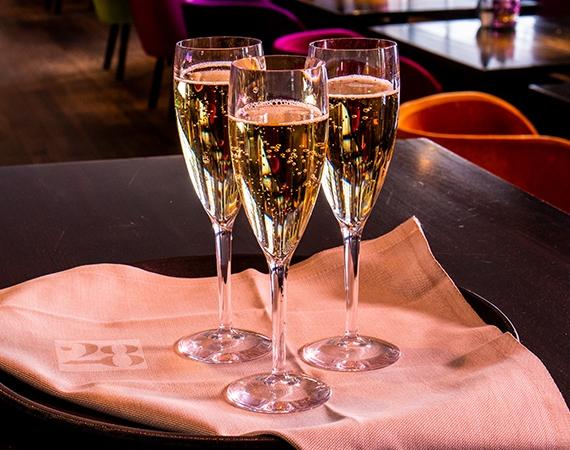 Starke Durable Champagnergläser!
