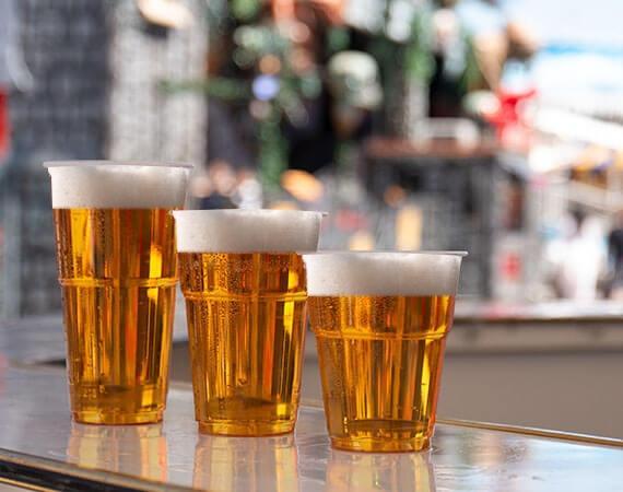 Hochwertige Bierbecher in vielen Formen und Größen!