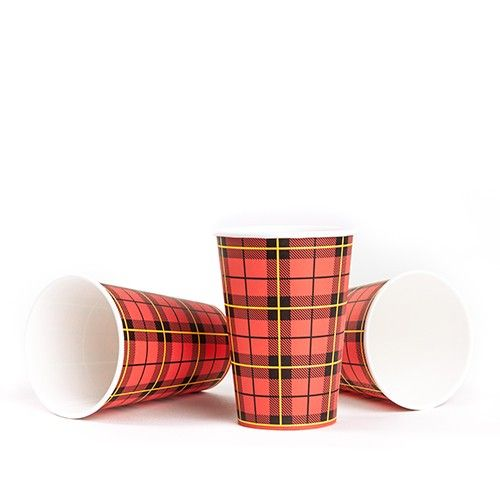 Scotty Red design paper cups