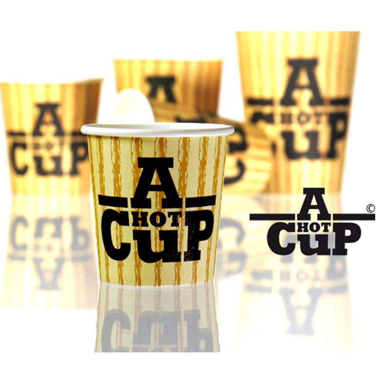 A Hot Cup design paper cups