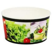 Cardboard salad bowls