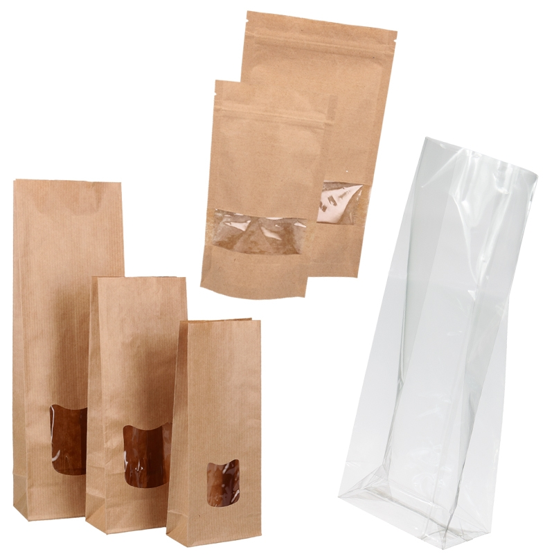 Clear PP Bags & Pouches