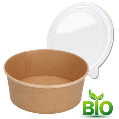 Emballages salade & Poké bowls BIO