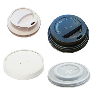 Lids for our paper coffee cups