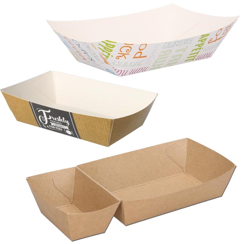 Pommesschütten aus Pappe