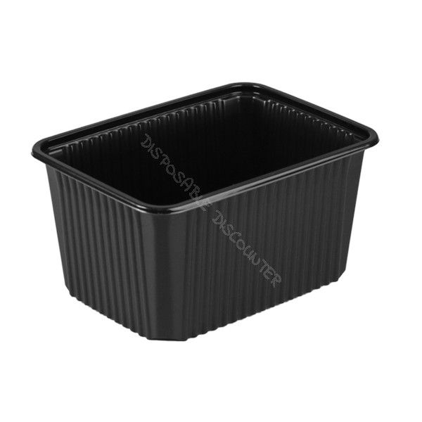 Basic rectangular containers with lids RE180