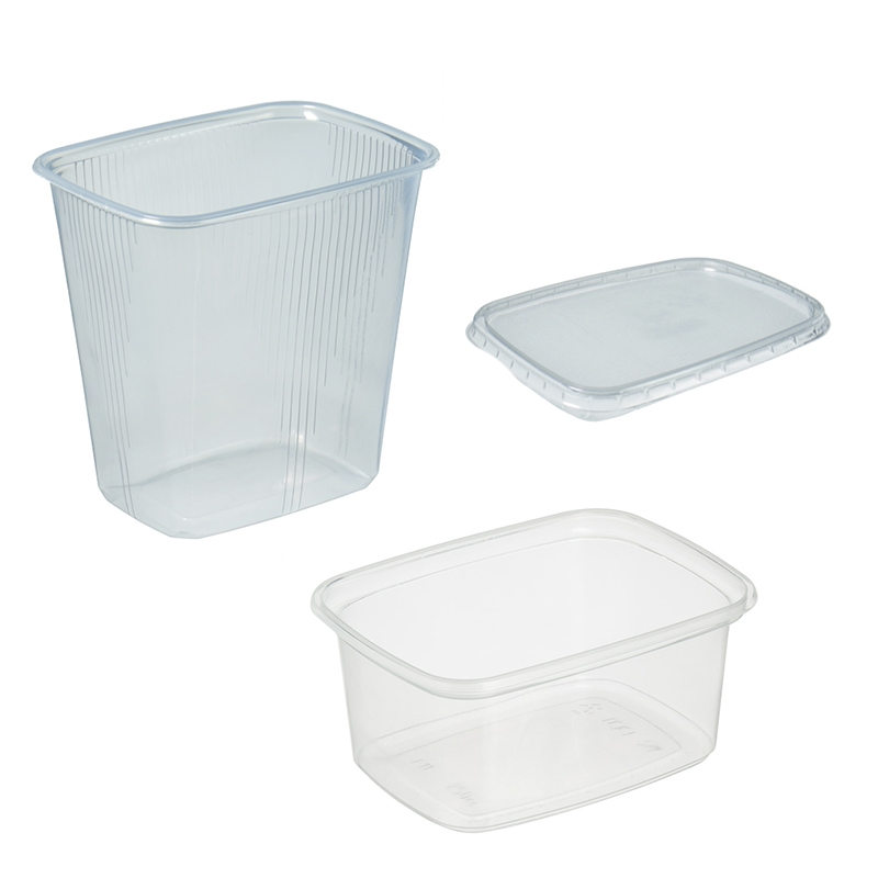 Deli container rectangular 108mm