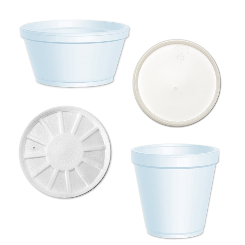 Foam containers (Dart)