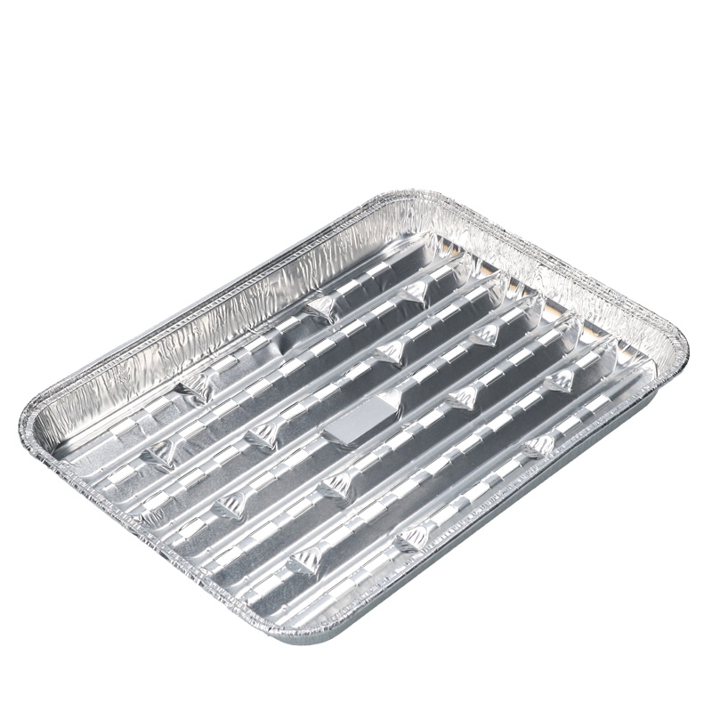 Abbildung von Aluminium Grill Tray 266x191x23mm