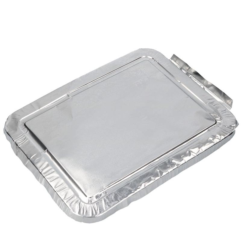 Abbildung von Aluminium lid for aluminium meal tray
