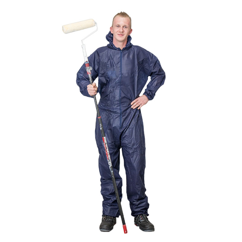 Image of Coverall nonwoven L XL blue