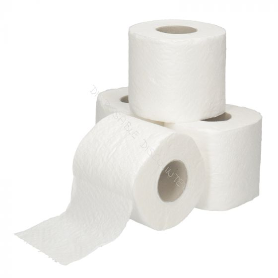 Traditioneel Toiletpapier cellulose 200 vels 2 laags