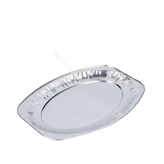 Catering platter oval - aluminium 35cm (small)