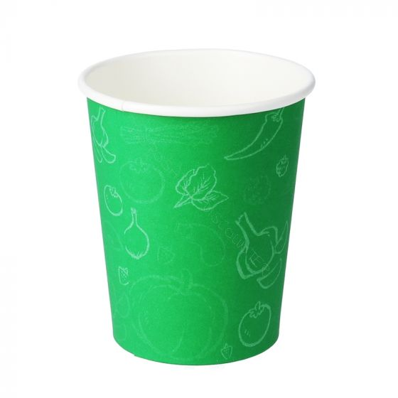 1000 Disposable Green Cups Coffee Cups Green Kraft Cups Green Paper Cups Vending