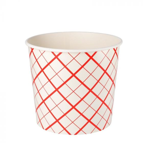 Food Bucket Red Lines 85oz