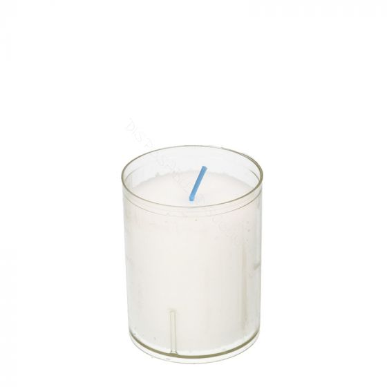 Q-lights refills 24-hour candle white 50x64mm