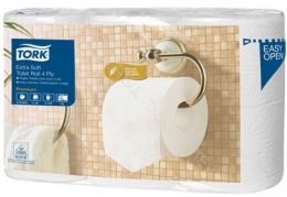 Tork Extra Soft Traditional Toilet Roll Premium 4-ply 110405