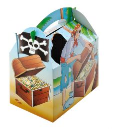 Kids box without toys Pirate