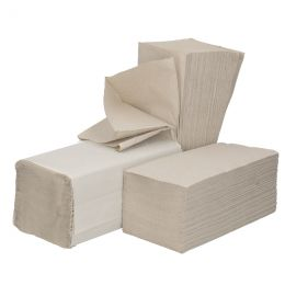 Hand Towel Z Fold 1 ply 23x25cm Recycle