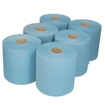 Wiper Midi Centerfeed 1 ply 300m Blue (