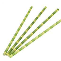BIO Paper Straws Palm 6mm x 200mm