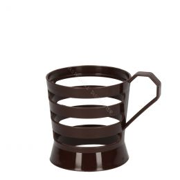 Cup holder for 150cc - 200cc - 70.3 mm cups brown