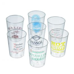 Shot & Wine Glasses printed with your logo!