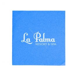 Double Point & Like Linen Napkins printed with your logo!