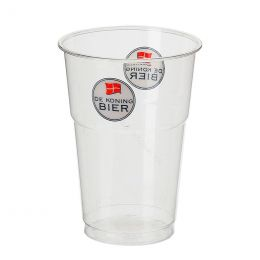 Plastic beer glasses printed with your logo!