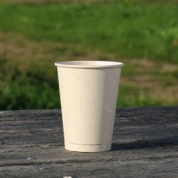 BIO Coffee Cups sugarcane bagasse 350ml 12oz