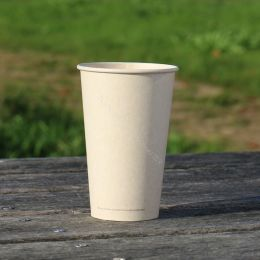 BIO Coffee Cups sugarcane bagasse 450ml 16oz