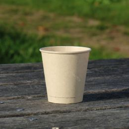 BIO Coffee Cups sugarcane bagasse 180ml 7oz