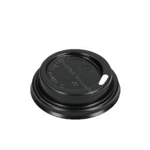 Travel lid for espresso Coffee To Go 120cc 4oz Black