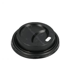 Travel lid for Paper Cups vending 70.3mm 150cc/180cc Black