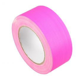 Duct Cloth Neon Gaffer Tape 50mm x 25m pink