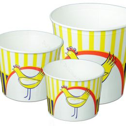 Food buckets printed with your logo!