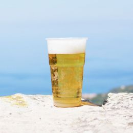 Beer glass PP 0.3l - 350cc splinter-free and Top quality!