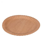 Assiettes en carton Kraft 23cm