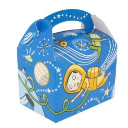 Kids box without toys Astronaut