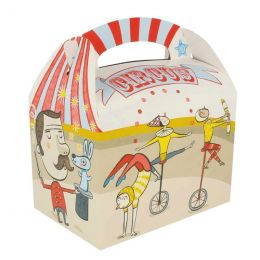 Kids box without toys Circus