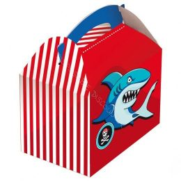 Kids box without toys Shark
