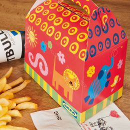 Kids boxes printed with your logo!