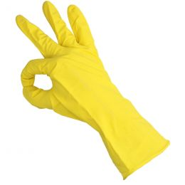 Household gloves Yellow L
