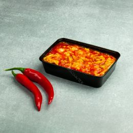Microwave container - 500ml - 175 series black