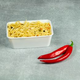 Microwave container - 750cc - 175 series white