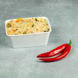 Microwave container - 950cc - 175 series white